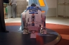 Full-size R2-D2 in the Hall of Fame