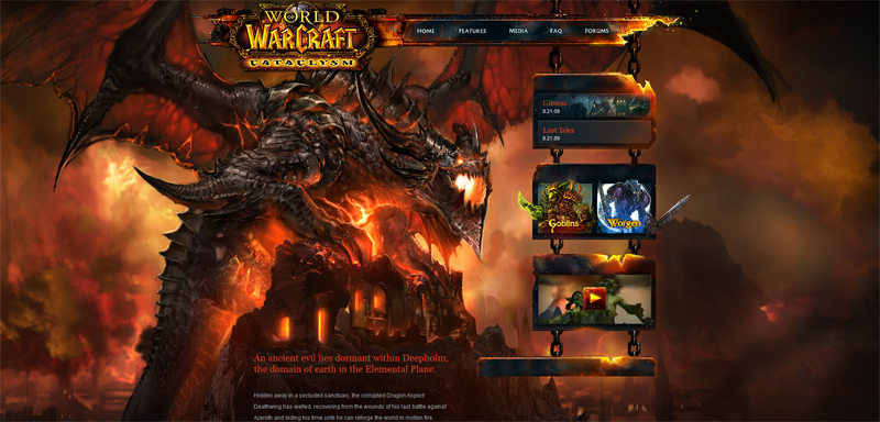 world of warcraft cataclysm. Blizzard Announces WoW